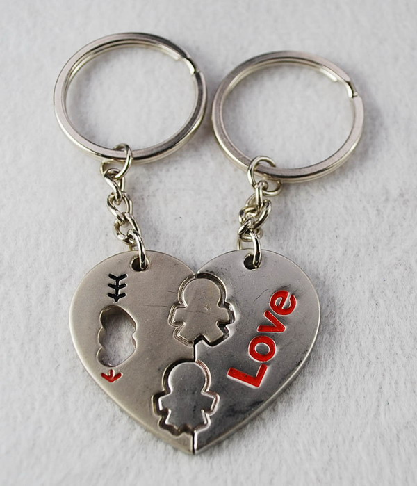 Promotional zinc alloy key chain