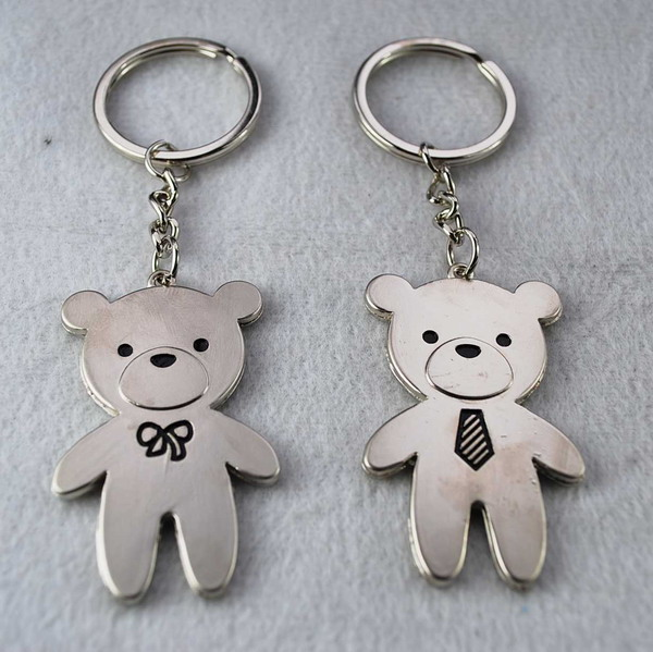 Alloy key chain for lover gifts