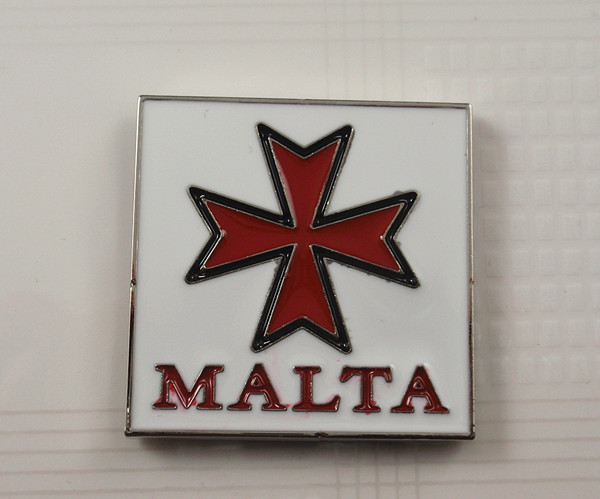 Metal fridge magnet