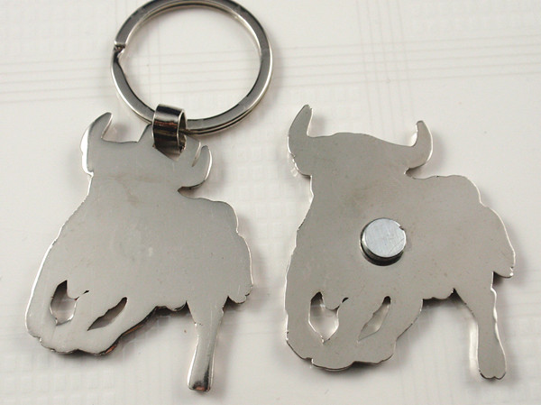 Keychain and magnet for Spanish Matador