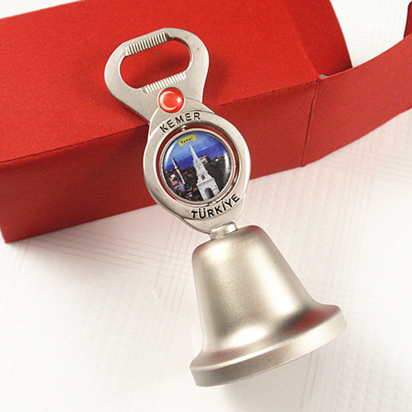 Rotating sticker metal table bell