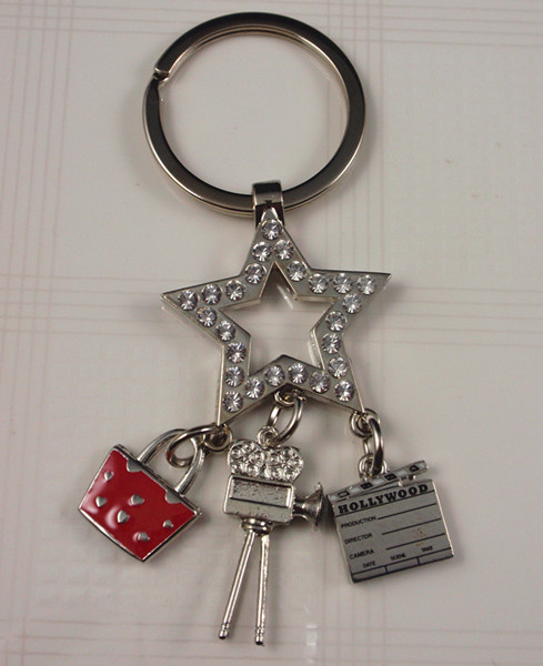 Souvenirs- Metal  charm key ring