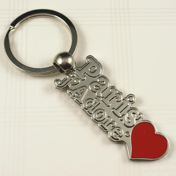 Souvenir- Metal key chain with PARIS Logo