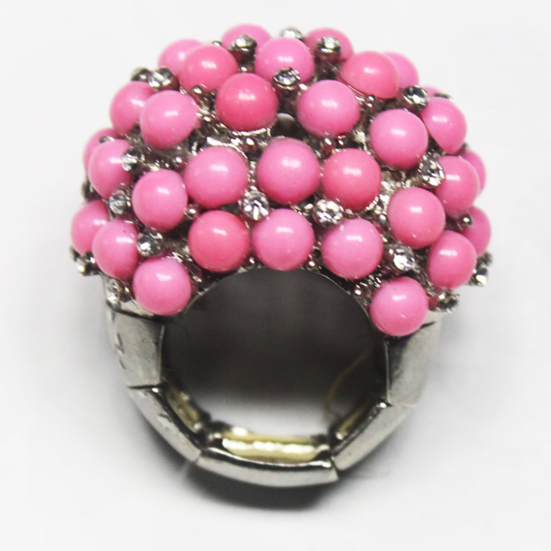 Fashion jewelry -Beaded finger ring