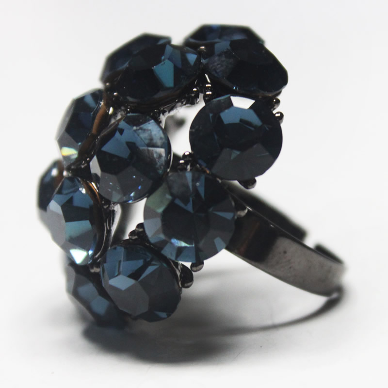 Fashion jewelry -Crystal finger ring