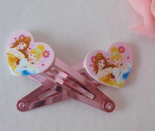 Disney hair accessories-princess hair pin set