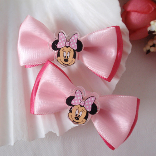 Disney hair accessories-Minnie hair clip set