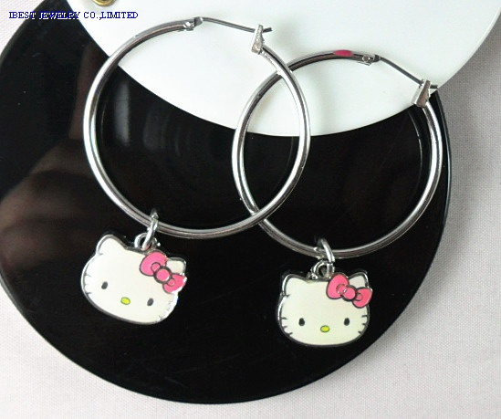 Hello Kitty Metal earring