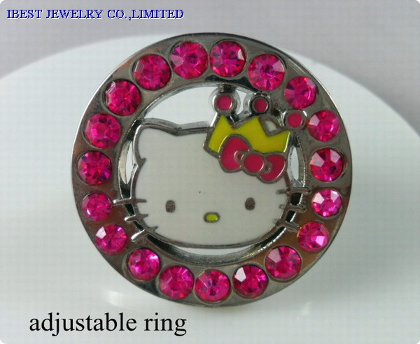 Hello Kitty Metal ring