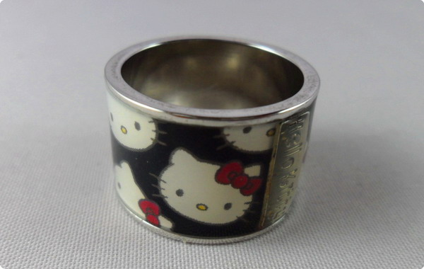 Copper Hello kitty Ring