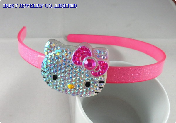 Hello Kitty plastic hair band
