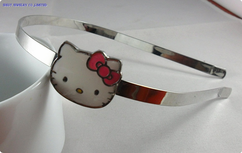 Hello kitty metal hair band
